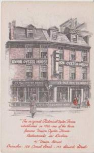Union Oyster House, Est. 1826, Union Street, Boston Massachusetts