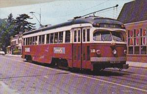 Trolley Southeast Pennsylvania Transport Authority Red Arrow #12