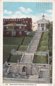 Monument Terrace, LYNCHBURG, Virginia, PU-1938