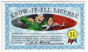Know - It - All - License