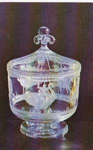 New York Corning Glass Center The Merry-Go-Round Bowl