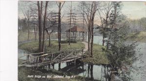 Rustic Bridge , OAKWOOD TROY , New York , PU-1909