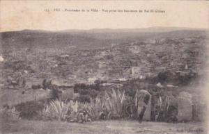 Morocco Fez Panorama de la Ville Vue prise des hauteurs de Bal El-Ghissa