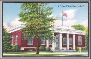 South Carolina, Cheraw Post Office - [SC-010]