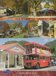 Arrowtown New Zealand London Bus & Real Estate Shop 2x Postcard s