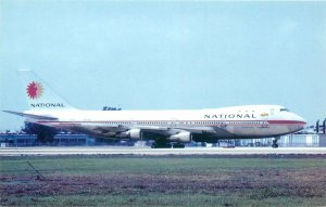 Eastern airlines boeing 747 plane aircraft aviation Postcard