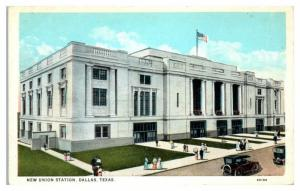 Early 1900s New Union Station, Dallas, TX Postcard
