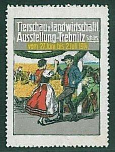 Ansichtskarten VINTAGE CINDERELA : GERMANY - Trebnitz 1914