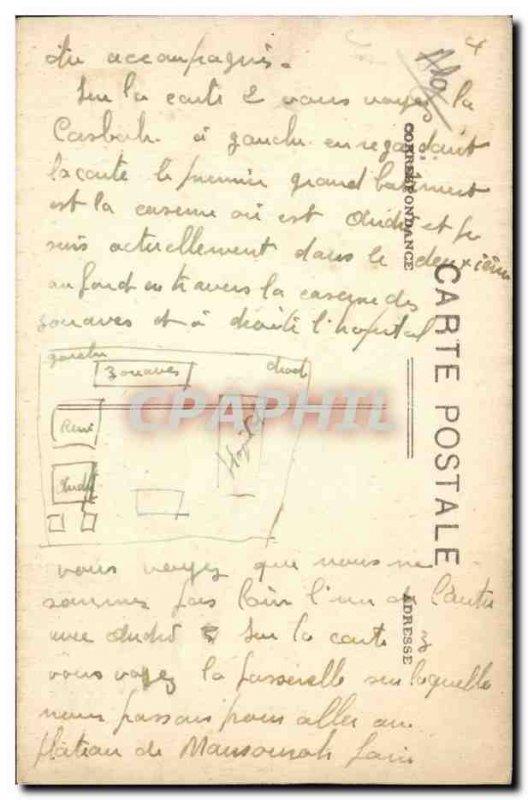 Algeria Constantine Old Postcard The Square of the Republic