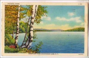 Greetings from Chautauqua Lake NY