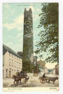 Ancient Irish Round Tower, Main Street, CLOYNE, Co. Cork, Ireland, 00-10s