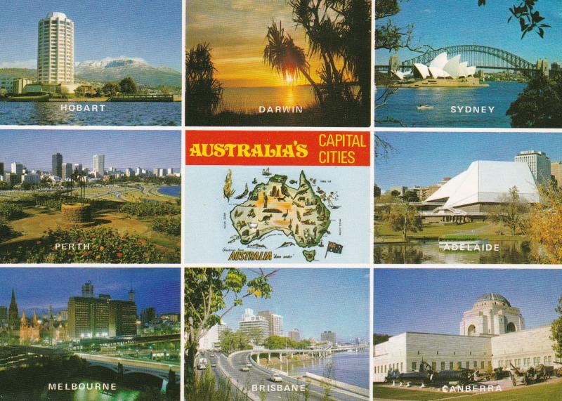 Australia , Capital Cities , 60-80s