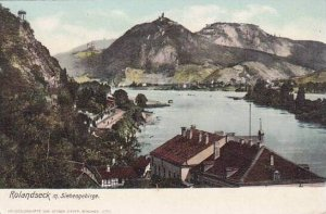 Germany Rolandseck mit Siebengebrige