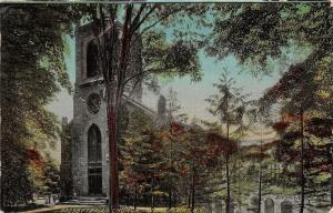 White Plains New York~Presbyterian Church~1910 Postcard