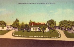 NASHVILLE MOTEL ANTIOCH, TN. owned & operated by Mr and Mrs Berry A Dobson