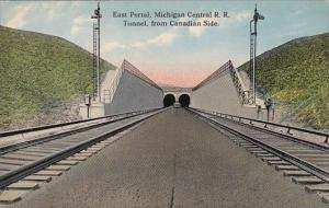 Canada Toronto East Portal Michigan Central Railroad Tunnel From Canadian Sid...