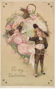 John Winsch 1913 , VALENTINE ; Victorian Child Couple