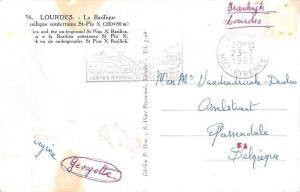 France Lourdes La Basilique Souterraine St Pie X