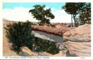 Arizona Petrified Forest The Natural Bridge Curteich