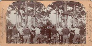 SV: CHICKAMANGA PARK , Georgia , 1898 ; Bouncing a new Recruit