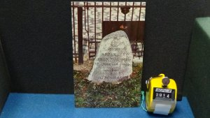 STD Vintage Johnny Appleseed Grave Fort Wayne Indiana Unposted