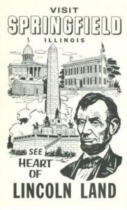 Visit Springfield Illinois, see heart of Lincoln Land 196...
