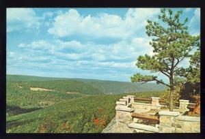Warren Penn/PA Postcard,Rim Rock Lookout/Allegheny Reservoir