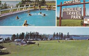 Swimming Pool,  Dunollie Travel Park,  Cornwall,  P.E.I.,   Canada,  40-60s
