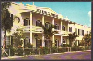 Key West Hand Print Fabrics FL Postcard 5661