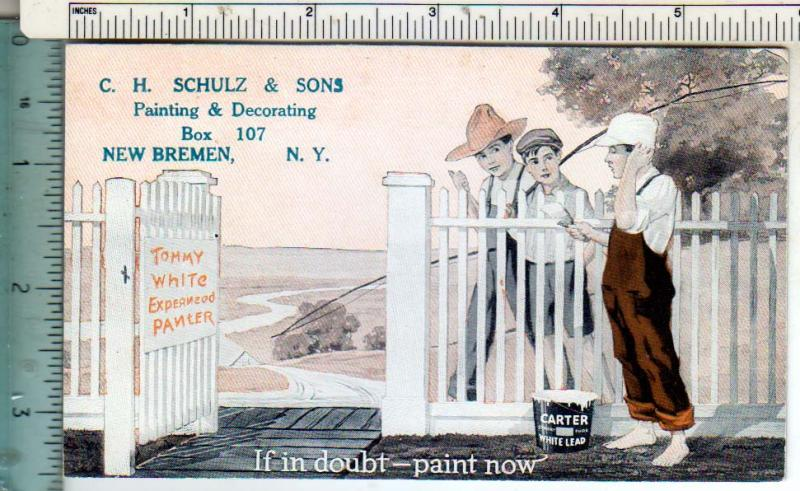 C. H. Schulz & Sons, New Bremen NY