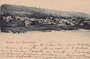 Totalansicht, Gruss Aus Neumagen a. Mosel, Germany, PU-1900
