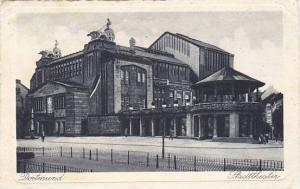 Germany Dortmund Stadttheater 1917