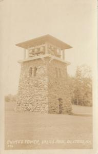 RP; ALSTEAD , New Hampshire , 1910-30s ; Chimes Tower , Vilas Pool