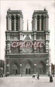 Modern Postcard Paris Notre Dame