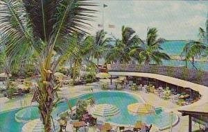 Florida Miami Bimini Marina And Pool As Viewed From The Anchors Aweigh Hotel ...