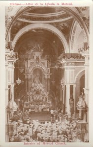 RP: HAVANA , Cuba , 00-10s ; Interior of Merced Church