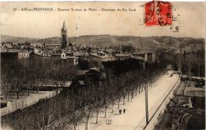 CPA AIX-en-PROVENCE Quartier St-Jean de Malte-Cheminee du Roi Rene (339909)