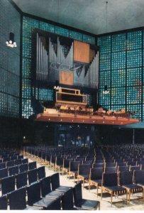BREITSCHEIDPLATZ, Berlin,1950-60s; Kaiser-Wilhelm Memorial Church