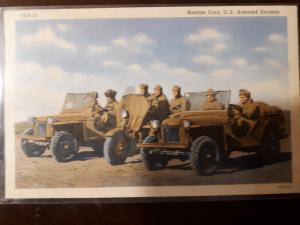 Bantam Cars, U.S. Armored Division
