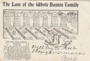 The Last of the Whole Damm Family , 1906