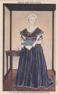 Washington DC Dress Of Mary Todd Lincoln U S Nationsal Museum Smithsonian Ins...