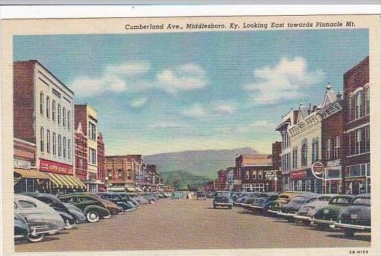 Kentucky Middlesboro Cumberland Avenue