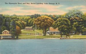 LAKE GEORGE, NY New York ALGONQUIN HOTEL & Bay, Bolton