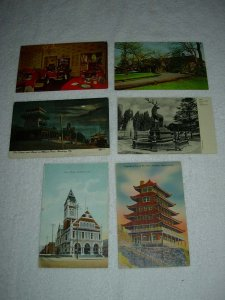 Reading PA - Lot Of 6 Great Vintage Postcards - x0597