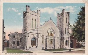 Delaware Wilmington St Paul's M E Church Curteich