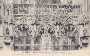 France Troyes Le Jube de la Madeleine