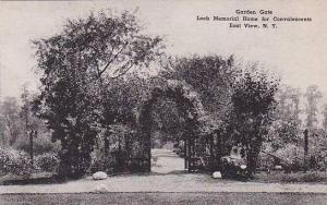 New York East View Garden Gate Loeb Memorial Home For Convalescents Albertype