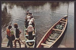 Comte River,French Guiana Postcard