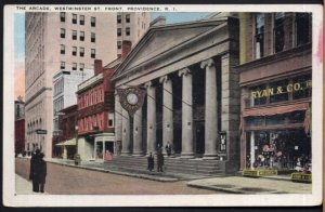 Rhode Island PROVIDENCE The Arcade Westminster St. Front - pm - White Border
