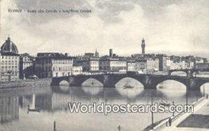 Ponte alla Carraia e Lung'Arno Corsini Firenze, Italy Unused